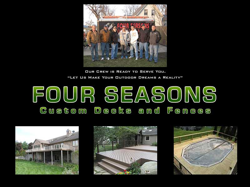 Four Seasons Custom Decks and Fences of Plymouth Indiana